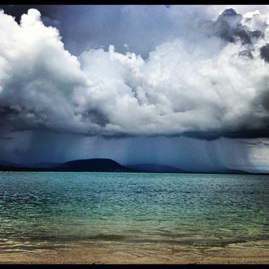 rainstorm...